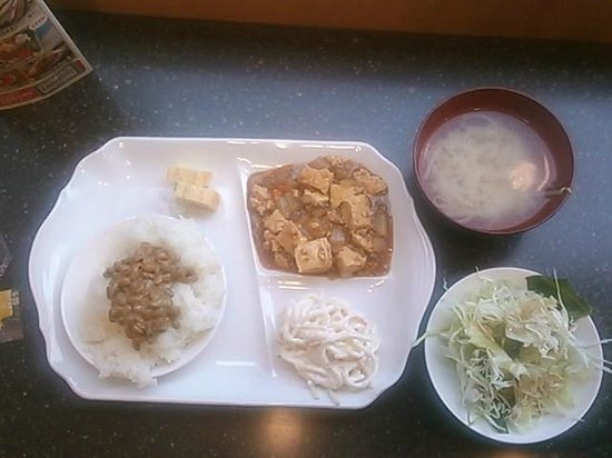 Toyoko Inn Kushiro Jujigai : an example of breakfast (free)
