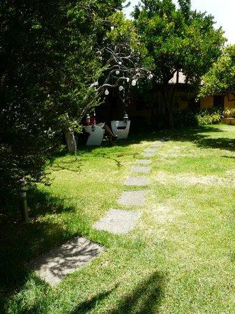 Hotel Rural Las Calas: precioso jardin para descansar, leer, meditar... vivir!