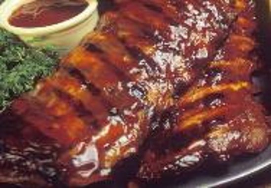 Chandler's Grill: BBQ Ribs - A House Specialty
