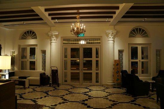The Sultan: lobby reception