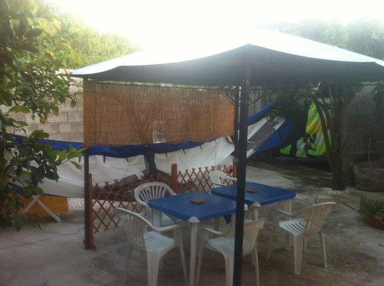 Bed e Breakfast Su Fassoi: Hanging our kitesurfing gear