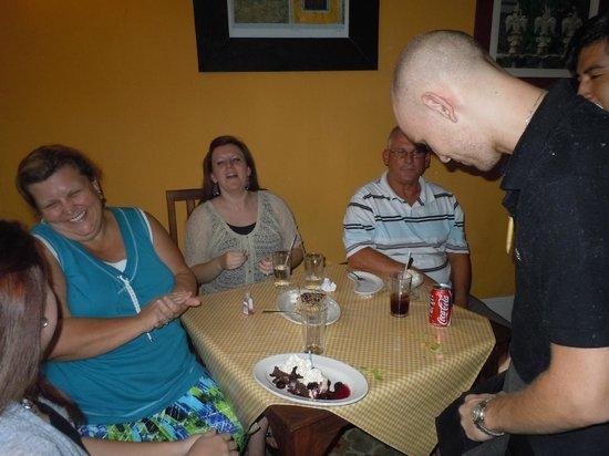Rescoldos Mediterranean Bistro: Briana's 20th Birthday at Rescoldos!