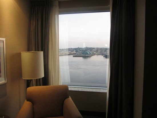 Hilton Saint John : the view