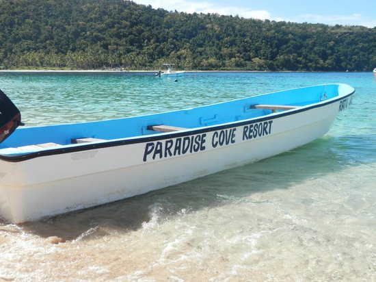 Paradise Cove Resort: The boat we arrived on
