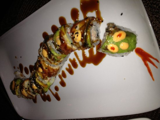 Frangipani Boutique Restaurant: Incredible Sushi!