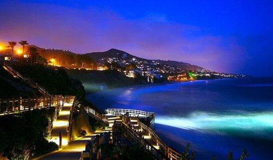 Laguna Beach Art Tours At Night