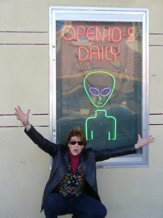 Downtown Historic District: Argh - The Aliens are coming