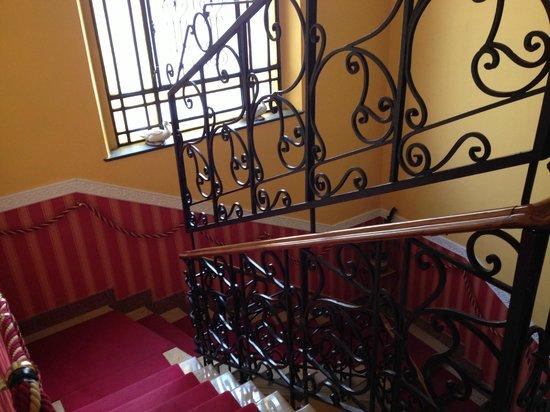 Hotel Principi D'Acaja: stairs
