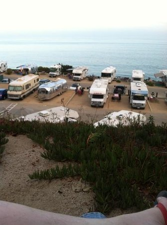 Malibu Beach RV Park : premium lot view