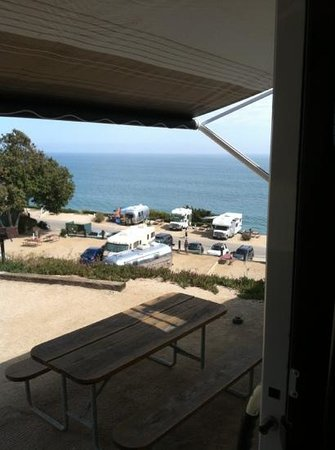 Malibu Beach RV Park : from the premium space