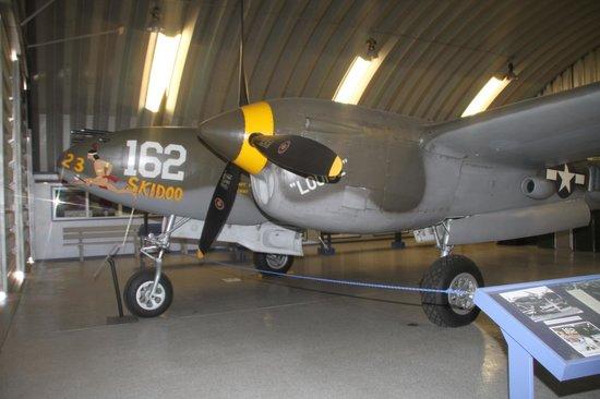 "Planes of Fame Air Museum: Lockheed P-38J Lightning ""23 Skidoo"""