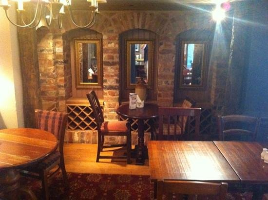 The Bull's Head: dining area