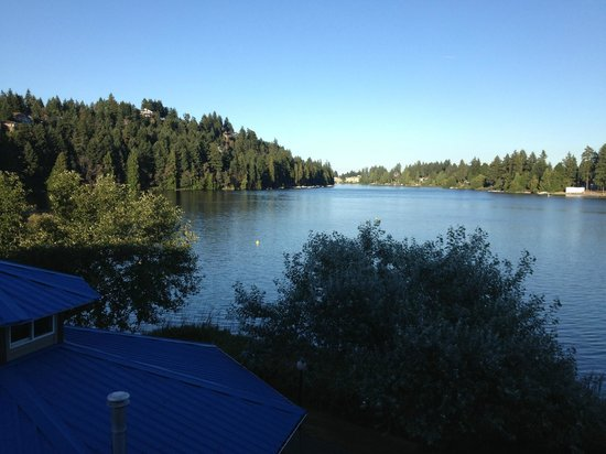 The Inn on Long Lake: View from room