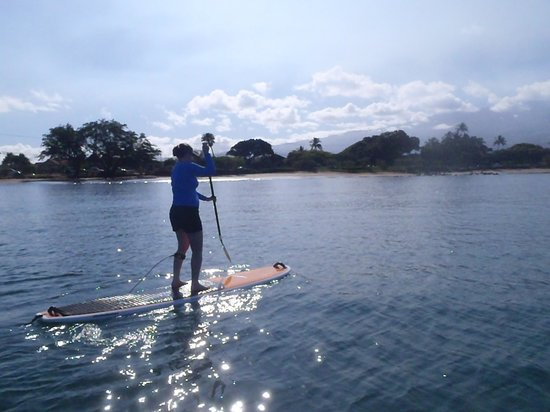 Maria Souza's Stand Up Paddle School: SUPing in Kihei