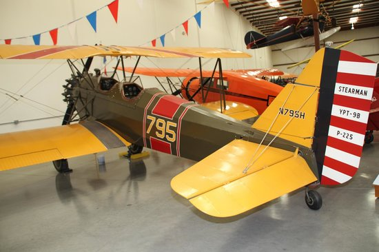 Yanks Air Museum: Stearman 6L (6A) (YPT-9B)