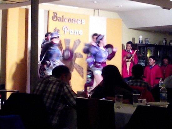 Balcones de Puno: show