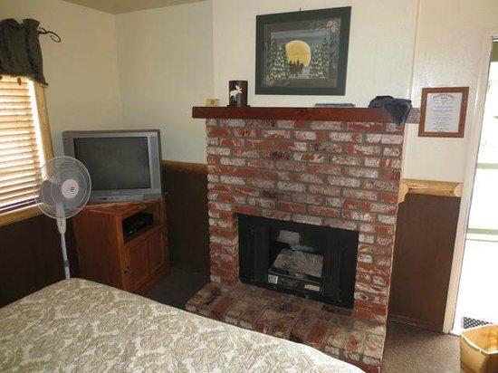 Fireside Lodge: fireplace (gas)