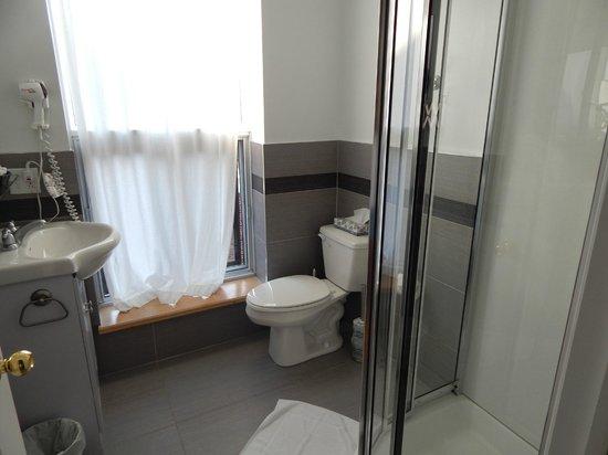 Hotel l'Abri du Voyageur: bathroom