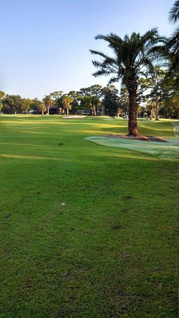 New Smyrna Beach Golf Course: hole #2 from the right side of fairway
