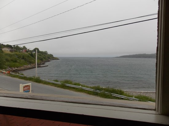 Harbour Main, Kanada: View from room window