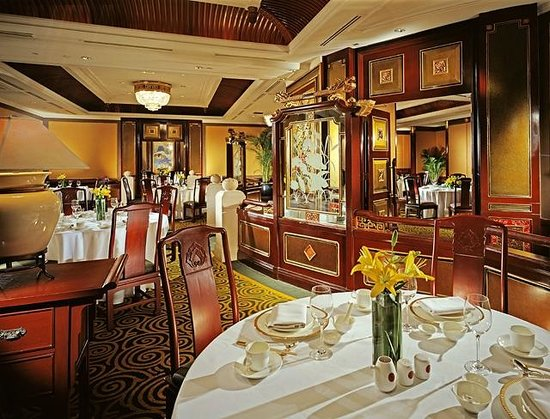 SHANG PALACE: Main dining area