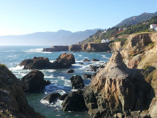 Inn of the Lost Coast: Another beautiful view just outside the hotel