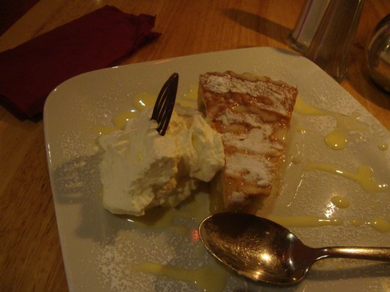 The Coachman's Bar & Restaurant: Pie and whipped cream  -- minus one bite