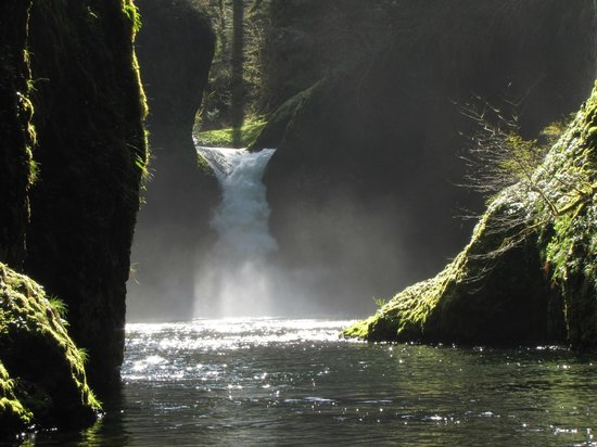 Columbia River Gorge National Scenic Area: PunchBowl Falls