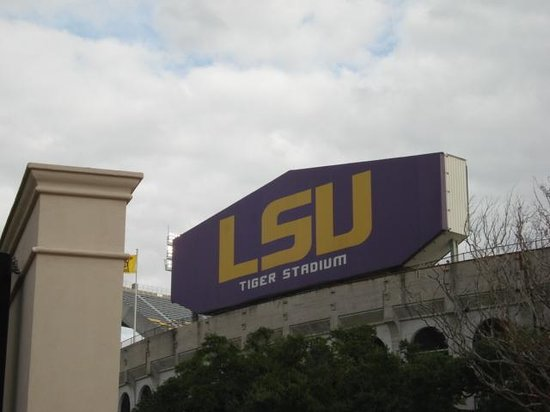 LSU Tiger Stadium: LSU Stadium (Geaux Tigers)!