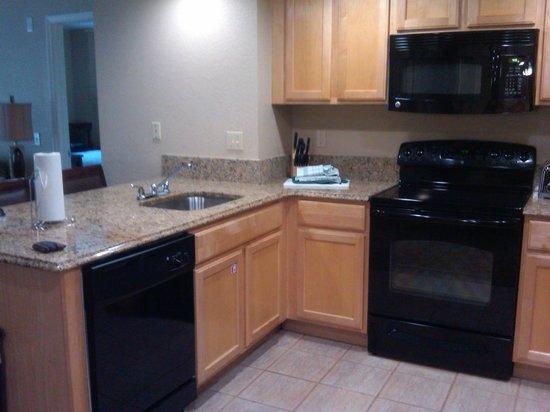 Wyndham Palm-Aire: kitchen