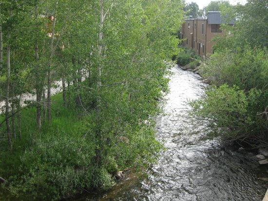Murphy's River Lodge : view of creek from our room