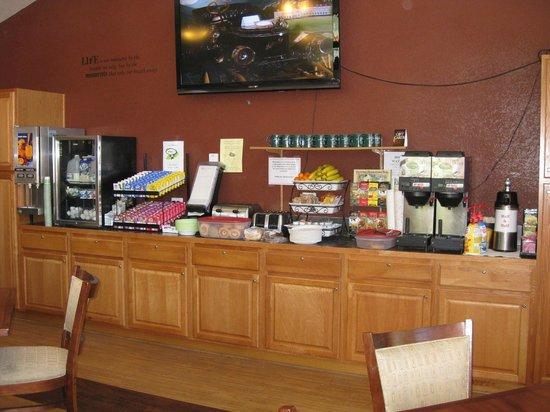 Murphy's River Lodge : breakfast