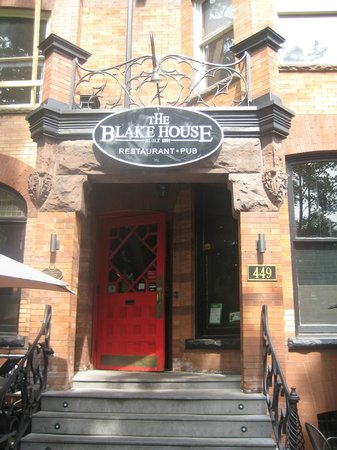 The Blake House: Front entrance