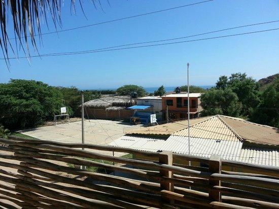 Eco Lodge: Vista desde Habitación