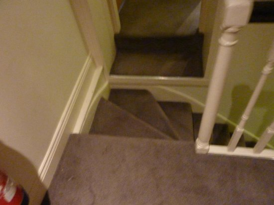 Rose Park Hotel: More strange, narrow stairs with fire doors in odd places to boot