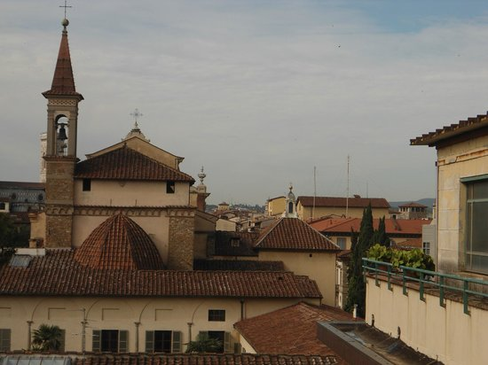 Albergo Hotel Panorama Firenze: Vista desde el hotel, Iglesia de San Marco