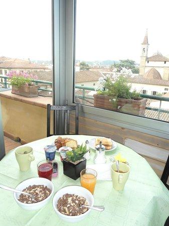 Albergo Hotel Panorama Firenze: desayuno variado