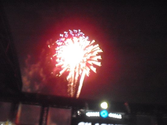 Chase Field: Fireworks After the Game