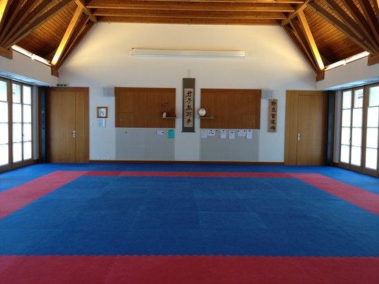 Karate Center Rapperswil: Dojo/Trainingsraum