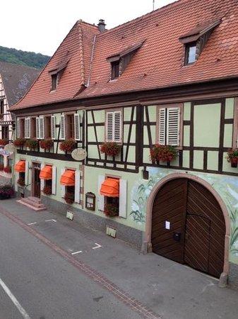 Auberge Le Meisenberg : et venez découvrir la terrasse intérieure