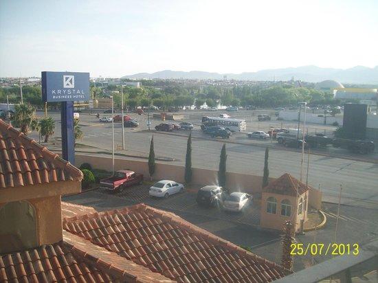 Krystal Urban Ciudad Juarez: vista al parque central
