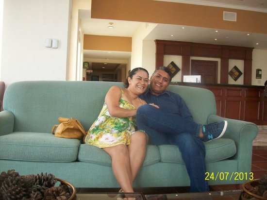 Krystal Urban Ciudad Juarez: en el lobby
