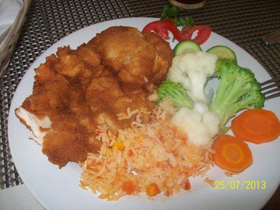 Krystal Urban Ciudad Juarez : una rica comida