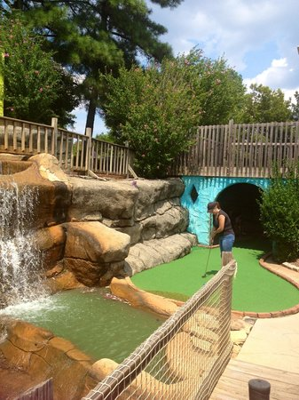 Pirate's Cove Miniature Golf: Cave Exit