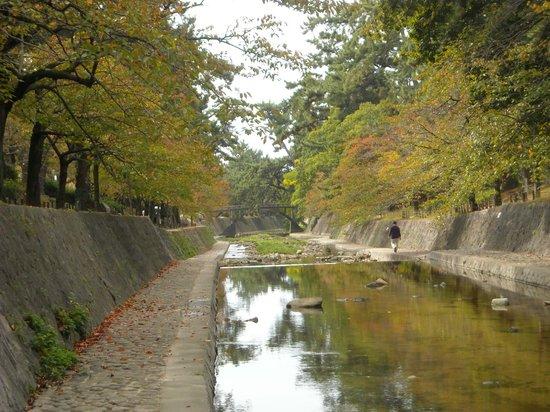 Shukugawa Park: early fall