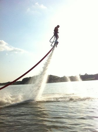 Flyboard North Texas: My first time flyboarding