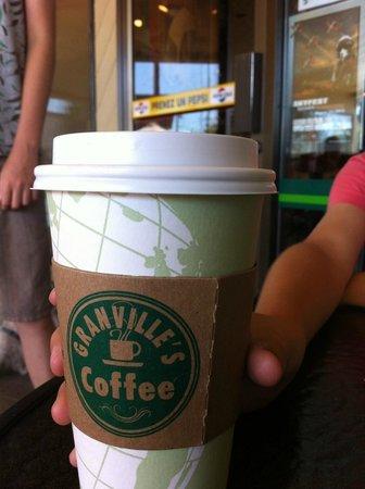 Granville's Coffee: to go