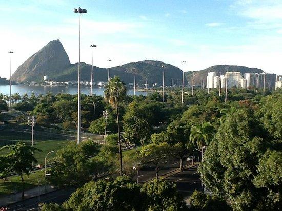 Hotel Novo Mundo: vista da janela, 6o andar
