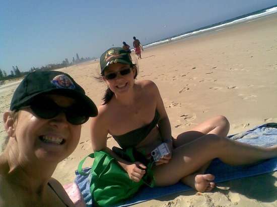 Coolangatta Beach: Chill out time from Brisbane