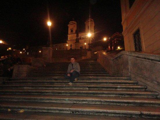Inn Spagna Charming House: Escadaria da Espanha a poucos passos do hotel